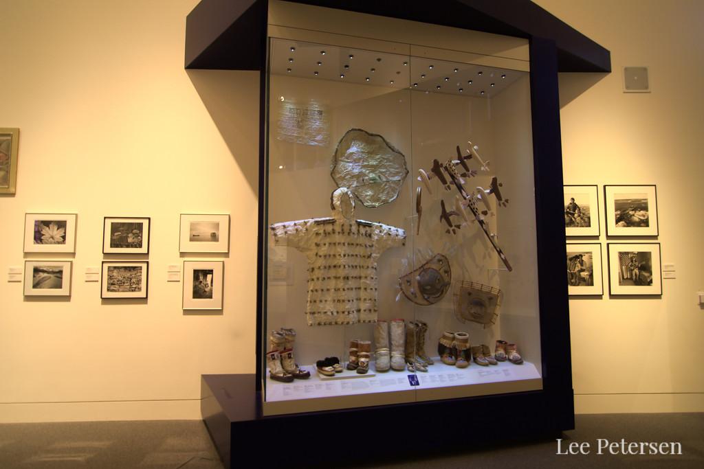 Exhibit in the Rose Berry Alaska Art Gallery