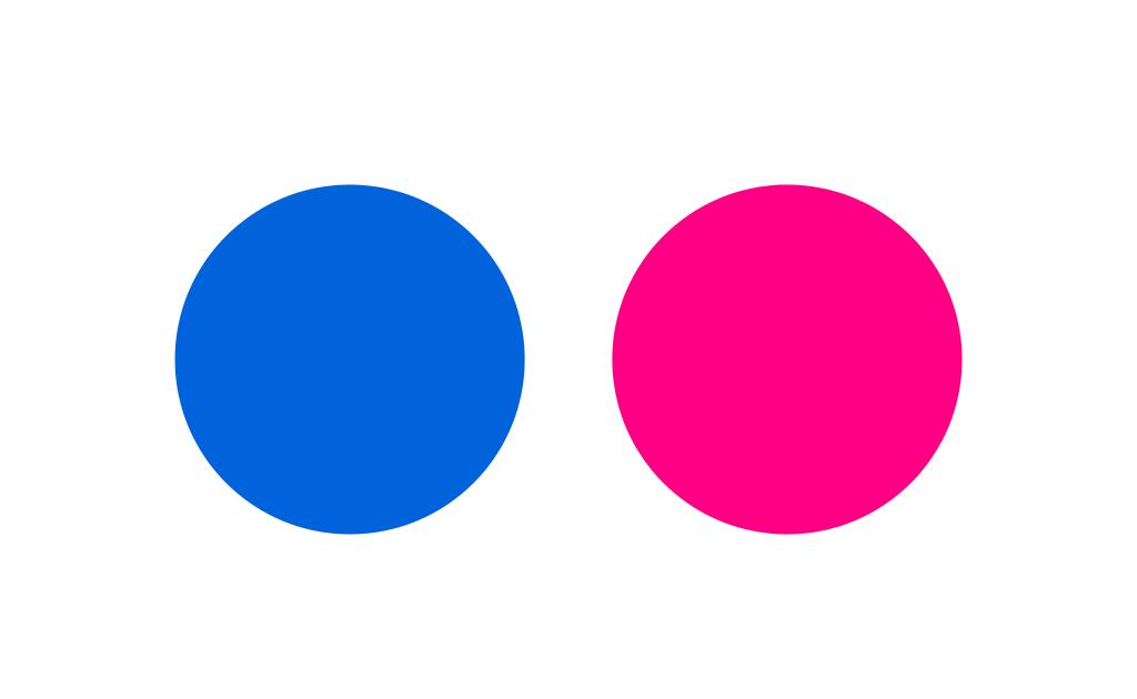 Flickr color logo